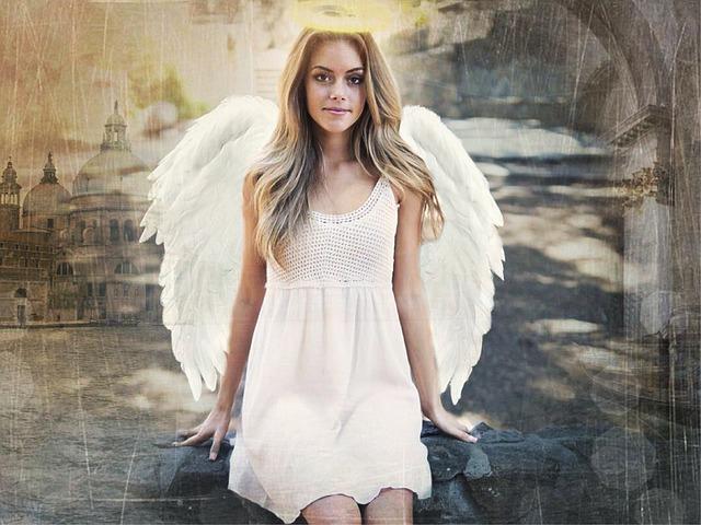 天使の輪のイメージ